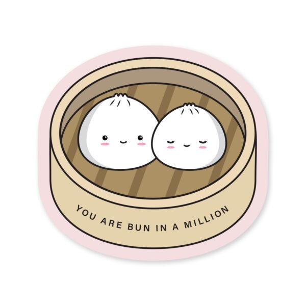 Bun In A Million: Vinyl Sticker